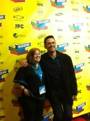 Me and Billy Campbell (Mr. Billings) at the premiere.
