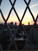 View from the rooftop screening NYC