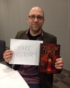 "Daniel Kraus - ""Make history."""