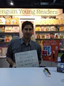 """Matt De La Pena - """"You will be a more interesting person if you read books."""""""