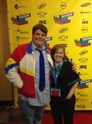 Me and Jacob Wysocki (Troy) SXSW premiere