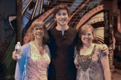 Kathy Dawson, Dylan Arnold (Dayle) and me, after the film screening...