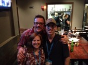 Me, my husband and Matt at the after party SXSW