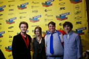 SXSW red carpet - the leads from the film...