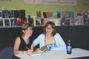 Me and Kathy at my first big book signing at ALA
